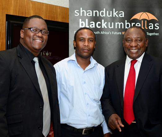 SBU_National_ED_Awards_Thando_Nyameni_Joseph_Madingwaneng_and_Cyril_Ramaphosa_3