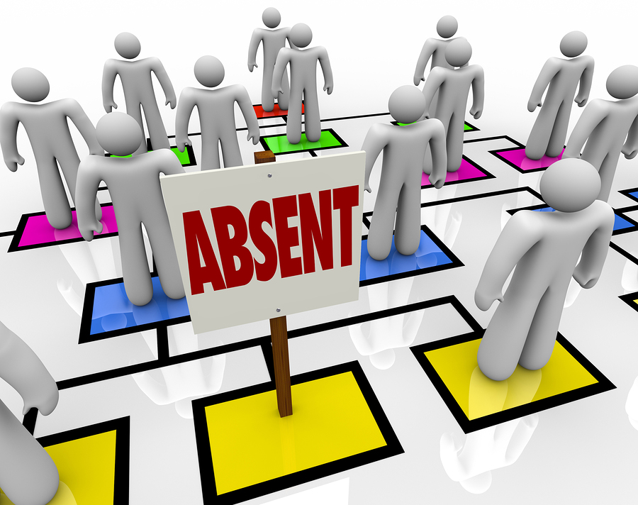 absenteeism in the workplace Absenteeism, or habitually being absent from work, can be a major problem for businesses and employers find out about the causes of absenteeism, the costs of lost productivity, and what employers can do to reduce absenteeism rates in the workplace.