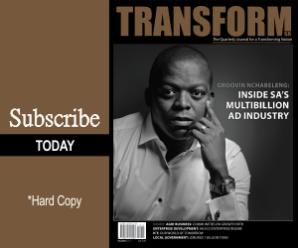 Subscribe - Transform SA Magazine