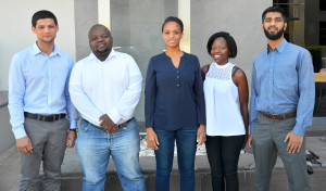 Left to right_Byran Titus, Tshepang Makhubedu, Dionah Tshabalala, Noxolo...