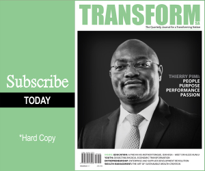 Subscribe - Transform SA Magazine