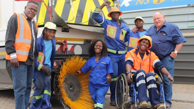 Sanral subcontractor empowers the disabled – Transform SA – The